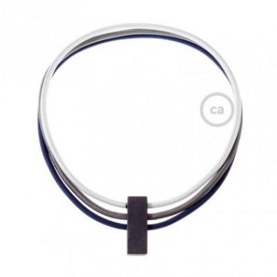 Collar Circles colores: Plata RM02, Gris Oscuro RM26 y Azul Marino RM20.