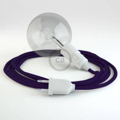 Crea tu Snake Efecto Seda Púrpura RM14 y trae la luz donde tu quieras.
