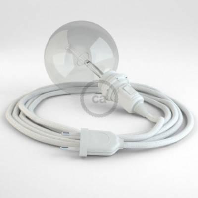 Crea tu Snake para pantalla Algodón Blanco RC01 y trae la luz donde tu quieras.