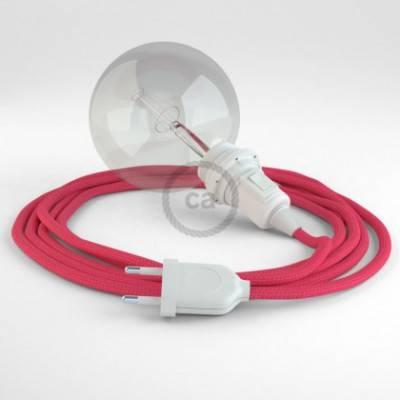 Crea tu Snake para pantalla Efecto Seda Fuchsia RM08 y trae la luz donde tu quieras.