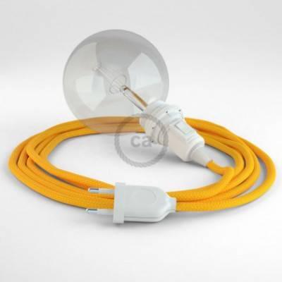 Crea tu Snake para pantalla Efecto Seda Amarillo RM10 y trae la luz donde tu quieras.