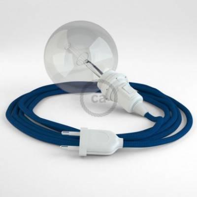 Crea tu Snake para pantalla Efecto Seda Azul RM12 y trae la luz donde tu quieras.