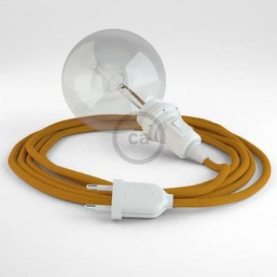 Crea tu Snake para pantalla Efecto Seda Mostaza RM25 y trae la luz donde tu quieras.