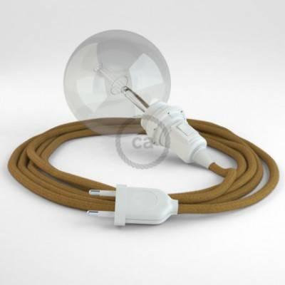 Crea tu Snake para pantalla Algodón Miel Dorado RC31 y trae la luz donde tu quieras.