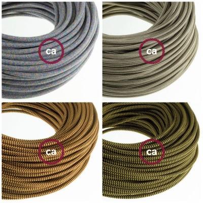 Cuatro nuevos cables textiles, listos para tu creaciones