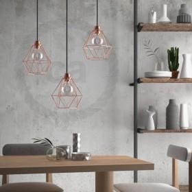 Armazones lámparas y jaulas metálicas en más de 20 modelos y colores