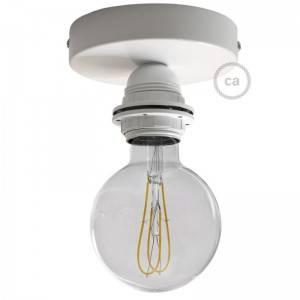 Lámpara de pared o techo Metal con portalámparas roscado E27