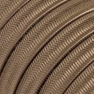 Cable eléctrico para Guirnalda recubierto en tejido Efecto Seda Cipria CM27