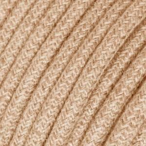 Cable Eléctrico Redondo Recubierto en Jute RN06