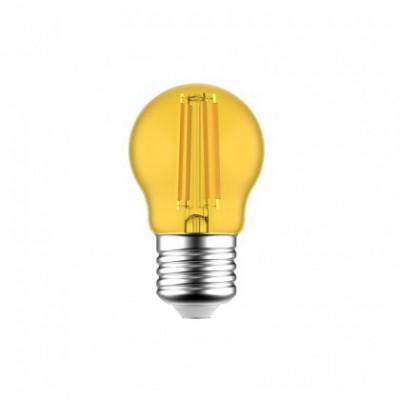 Bombilla LED Globetta G45 Decorativa Amarilla 1.4W E27