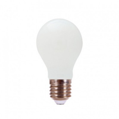 Bombilla Milky LED Gota A70 15W E27 2700K