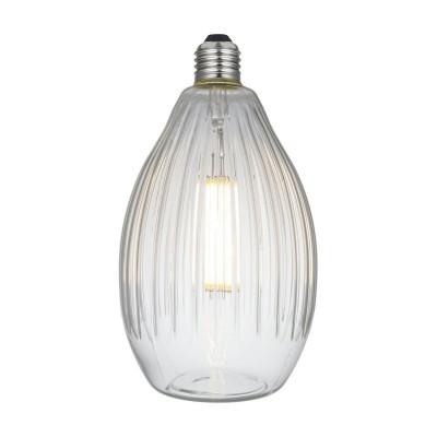Bombilla LED Eos Transparente Línea Crystal 6W E27 Regulable 2700K