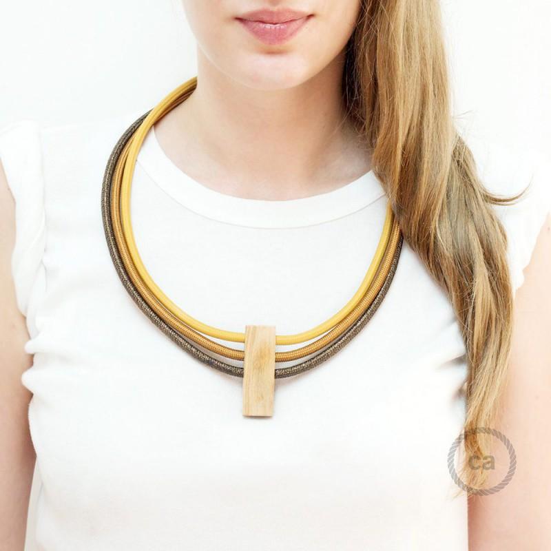 8d1e3e922126 Collar Circles colores  Mostaza RM25