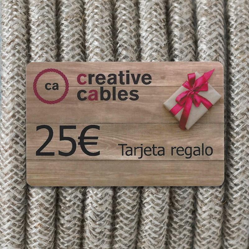 Gift card, tarjeta regalo Creative-Cables 25 Euro