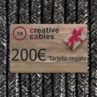 Gift card, tarjeta regalo Creative-Cables 200 Euro