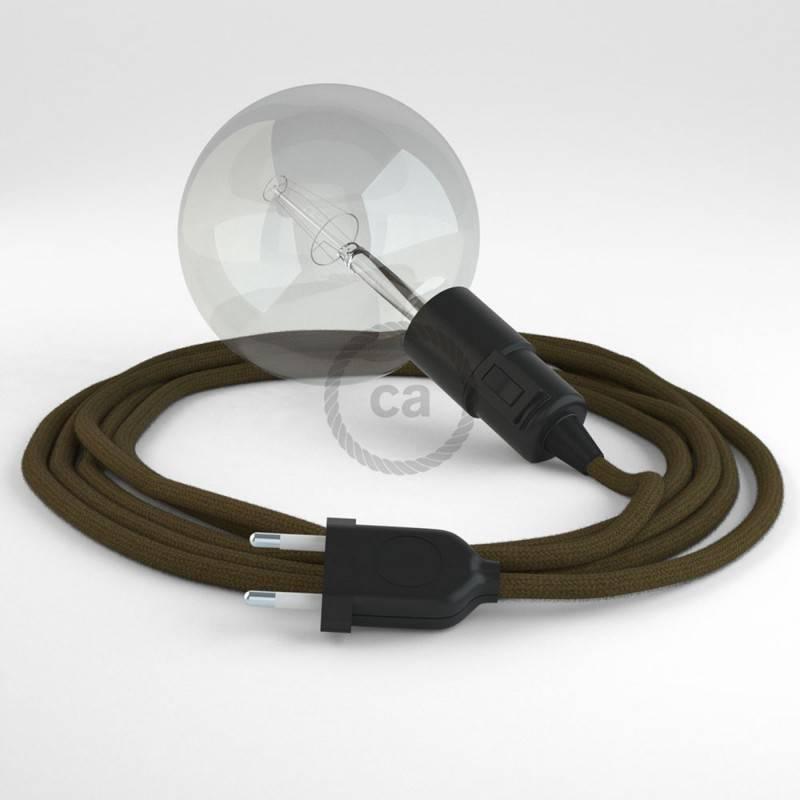 Crea tu Snake Algodón Marrón RC13 y trae la luz donde tu quieras.