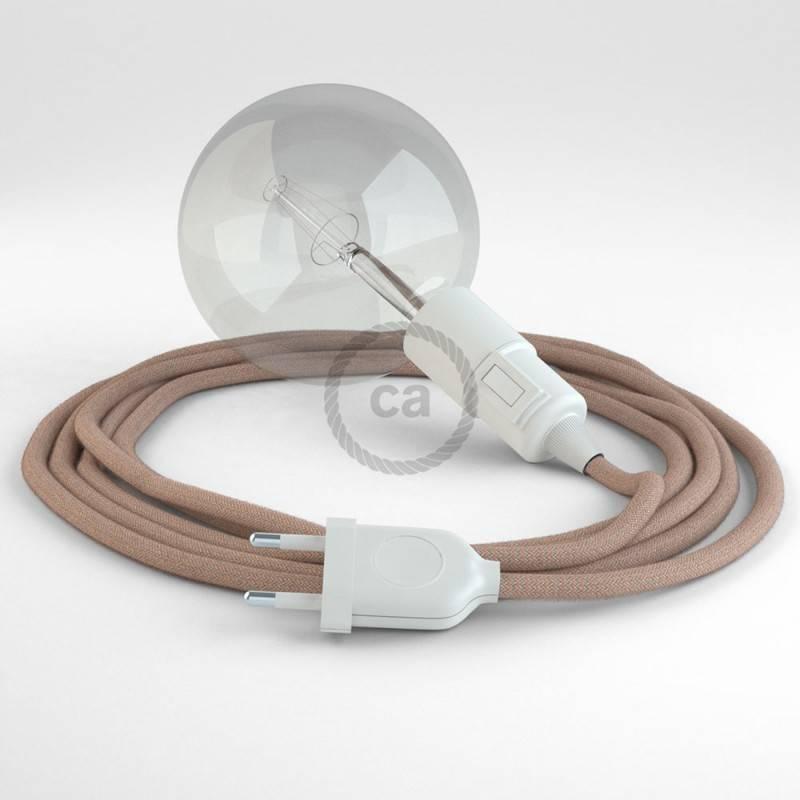 Crea tu Snake ZigZag Rosa Antico RD71 y trae la luz donde tu quieras.