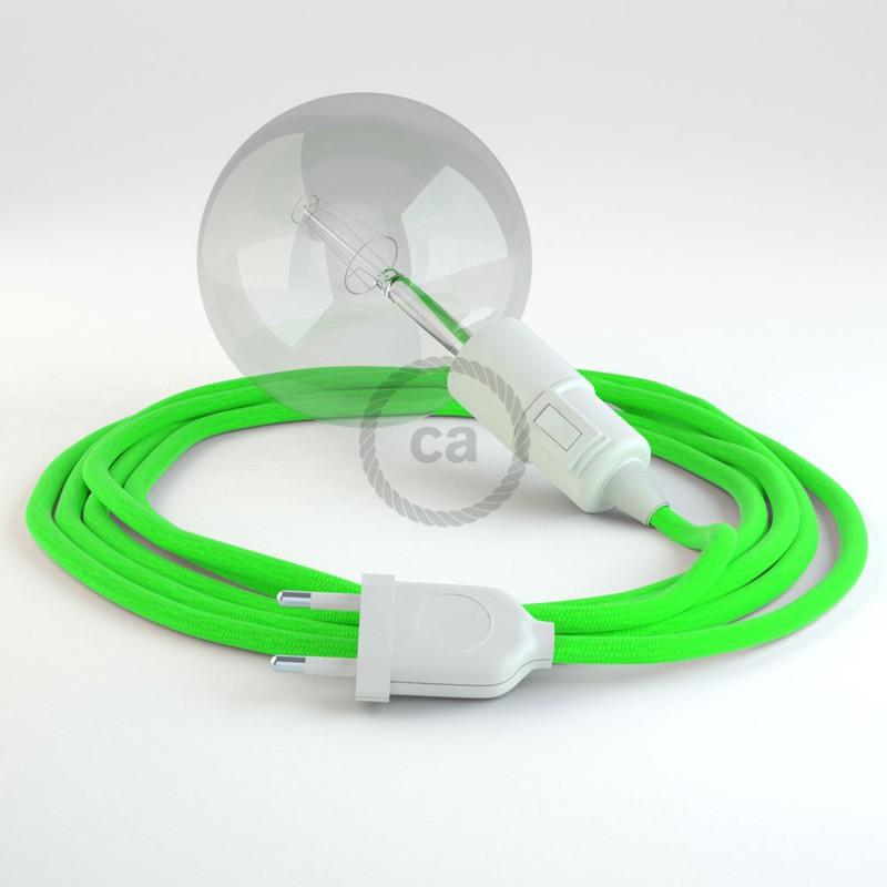 Crea tu Snake Fluo Verde RF06 y trae la luz donde tu quieras.