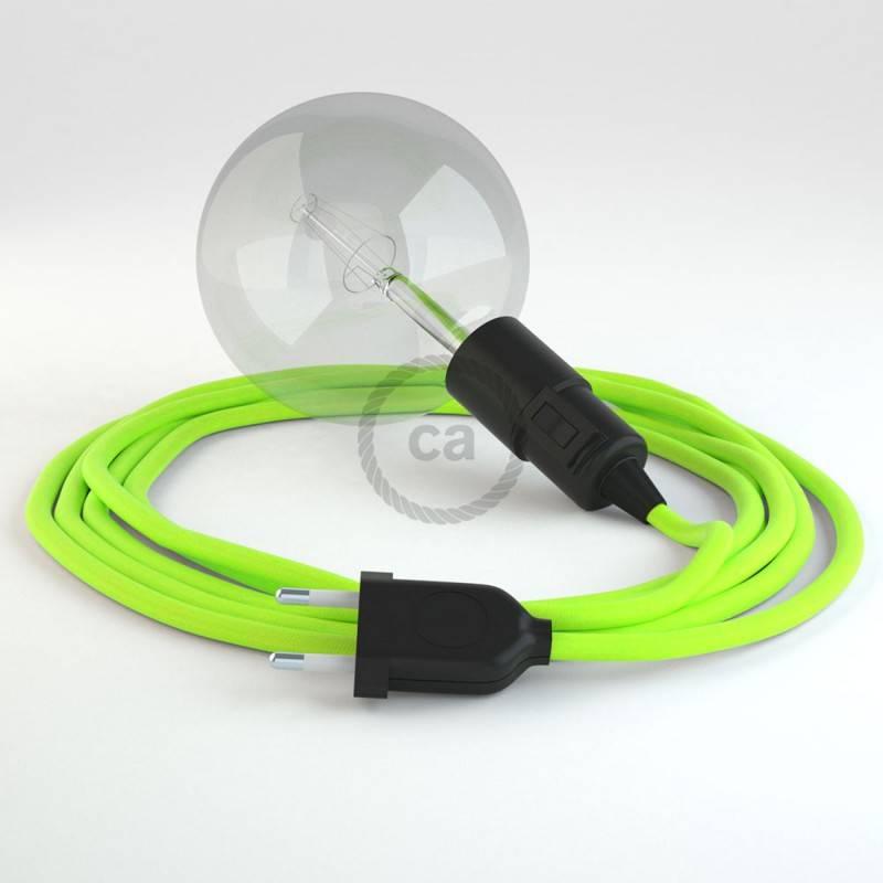 Crea tu Snake Fluo Amarillo RF10 y trae la luz donde tu quieras.