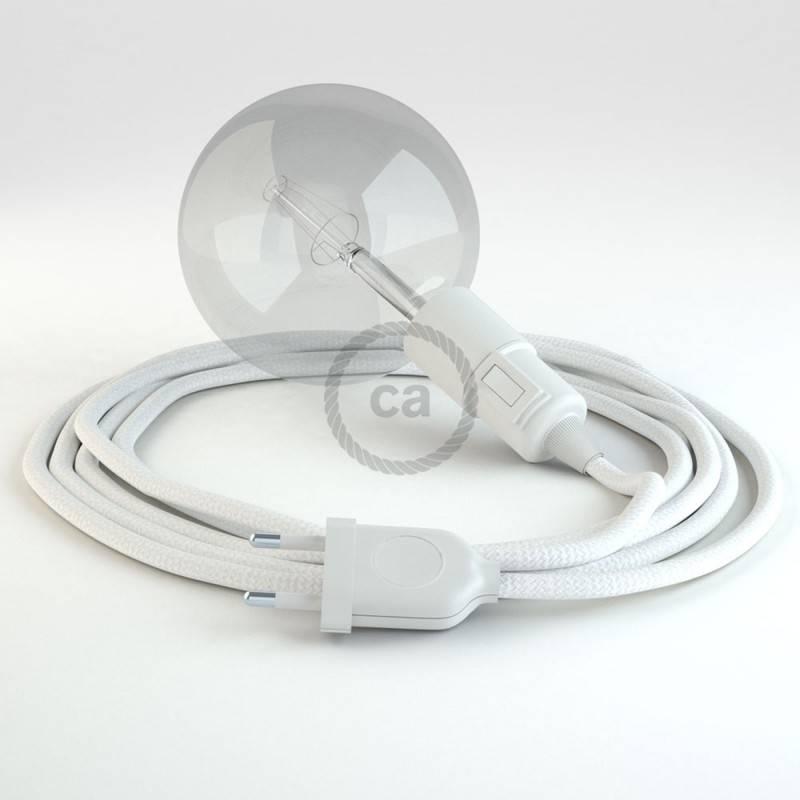 Crea tu Snake Efecto Seda Blanco RM01 y trae la luz donde tu quieras.