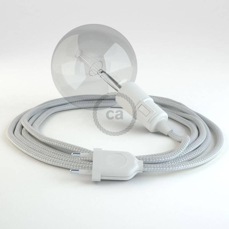 Crea tu Snake Efecto Seda Plateado RM02 y trae la luz donde tu quieras.