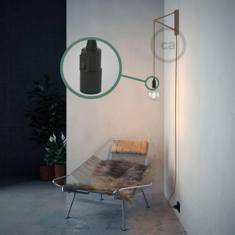 Crea tu Snake Efecto Seda Dorado RM05 y trae la luz donde tu quieras.