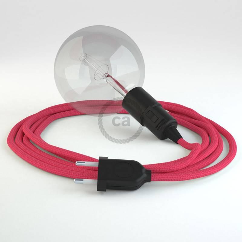Crea tu Snake Efecto Seda Fuchsia RM08 y trae la luz donde tu quieras.