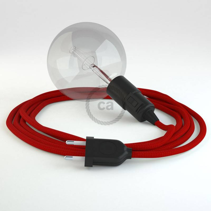 Crea tu Snake Efecto Seda Rojo RM09 y trae la luz donde tu quieras.