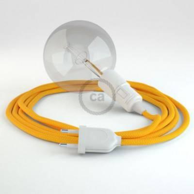 Crea tu Snake Efecto Seda Amarillo RM10 y trae la luz donde tu quieras.