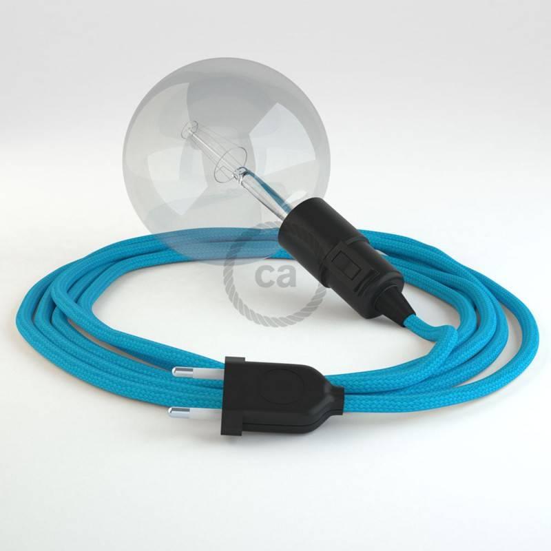 Crea tu Snake Efecto Seda Turquesa RM11 y trae la luz donde tu quieras.