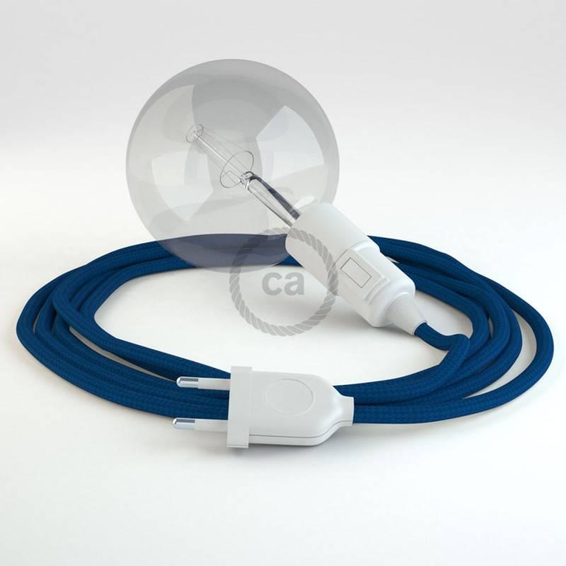 Crea tu Snake Efecto Seda Azul RM12 y trae la luz donde tu quieras.