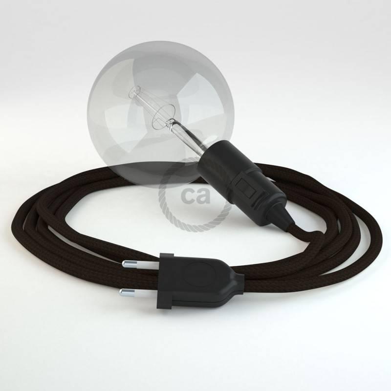 Crea tu Snake Efecto Seda Marrón RM13 y trae la luz donde tu quieras.