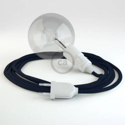 Crea tu Snake Efecto Seda Azul Marino RM20 y trae la luz donde tu quieras.