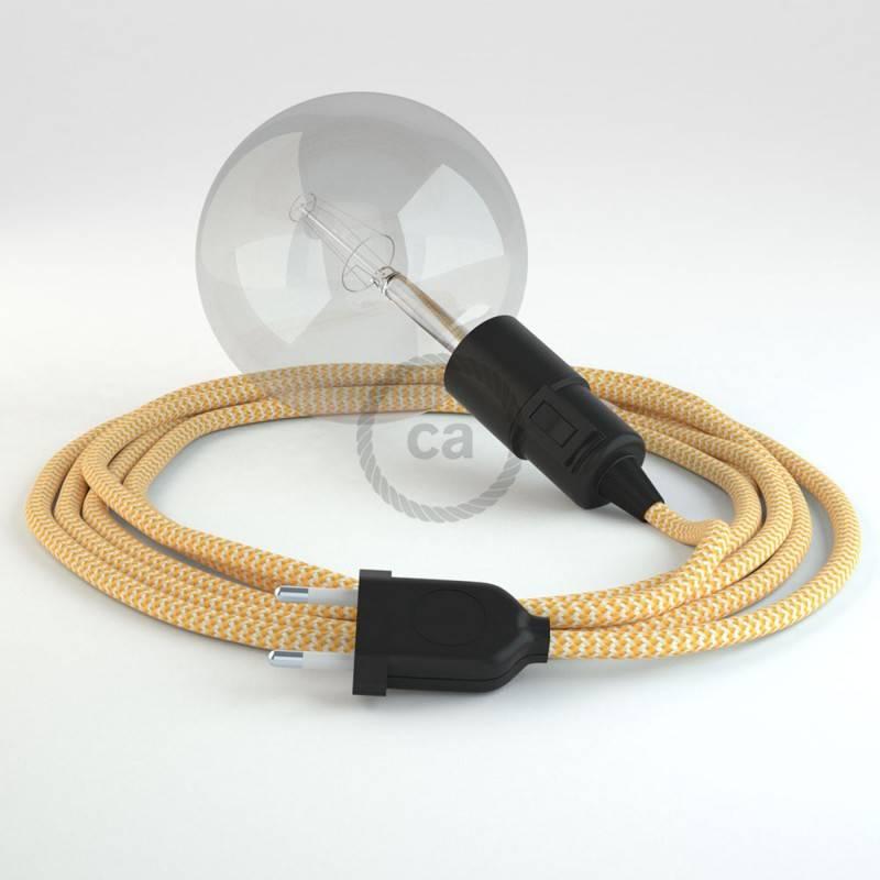 Crea tu Snake ZigZag Amarillo RZ10 y trae la luz donde tu quieras.