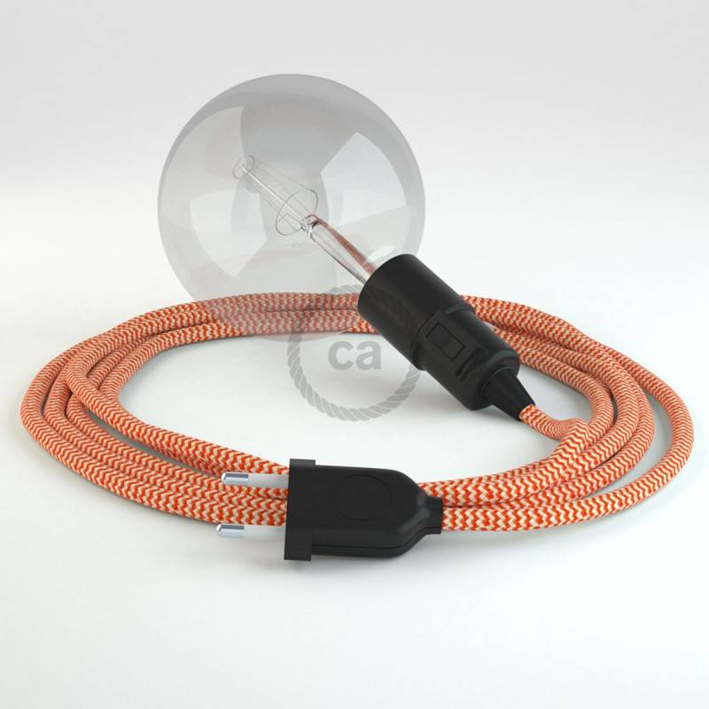 Crea tu Snake ZigZag Naranja RZ15 y trae la luz donde tu quieras.
