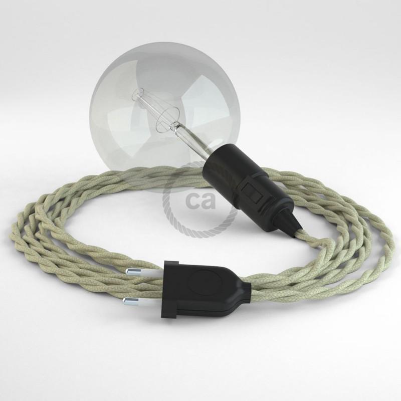 Crea tu Snake Algodón Gris pardo TC43 y trae la luz donde tu quieras.