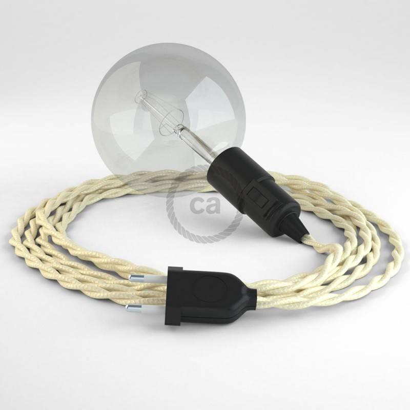 Crea tu Snake Efecto Seda Marfil TM00 y trae la luz donde tu quieras.