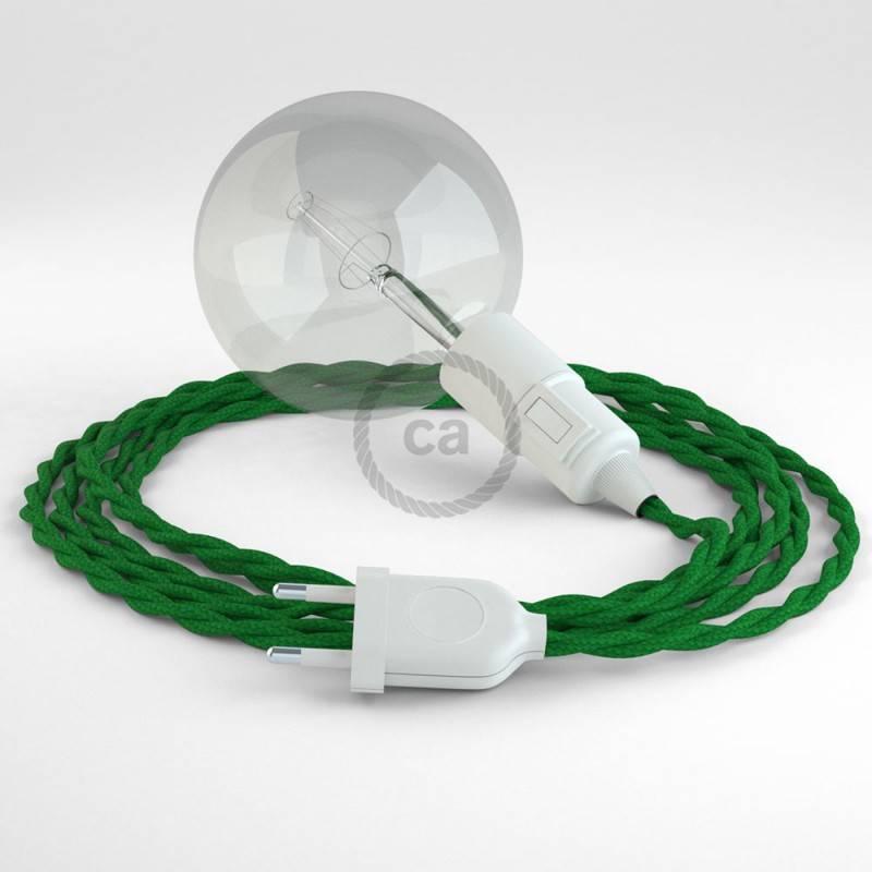 Crea tu Snake Efecto Seda Verde TM06 y trae la luz donde tu quieras.