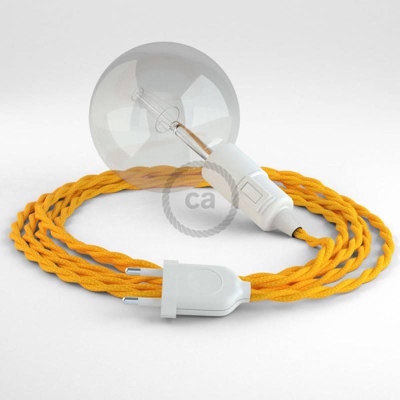 Crea tu Snake Efecto Seda Amarillo TM10 y trae la luz donde tu quieras.