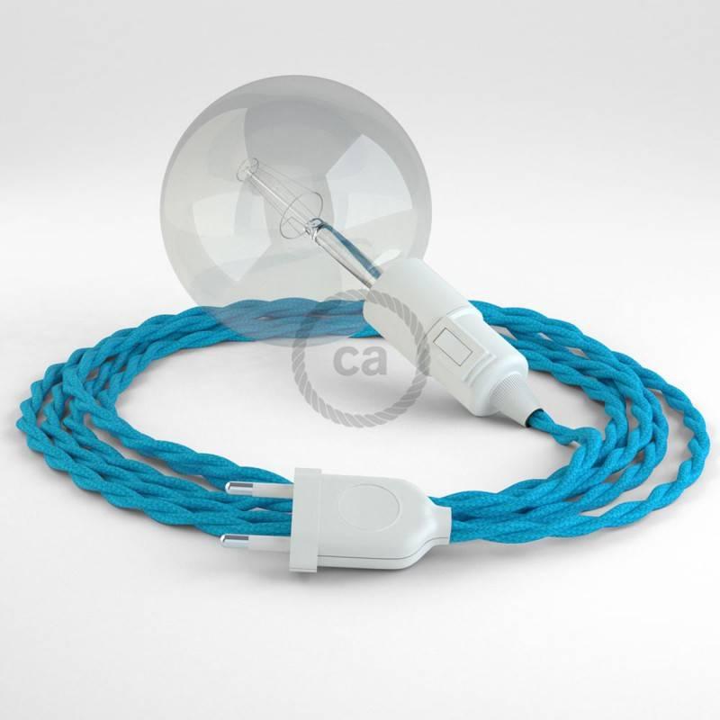 Crea tu Snake Efecto Seda Turquesa TM11 y trae la luz donde tu quieras.