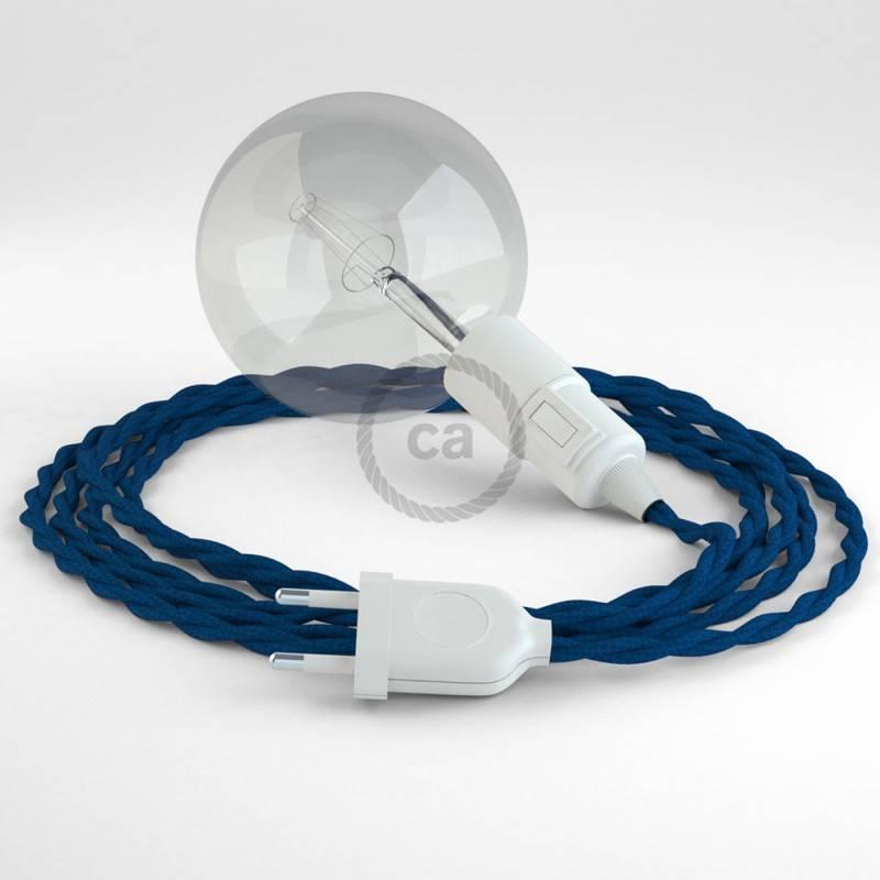 Crea tu Snake Efecto Seda Azul TM12 y trae la luz donde tu quieras.