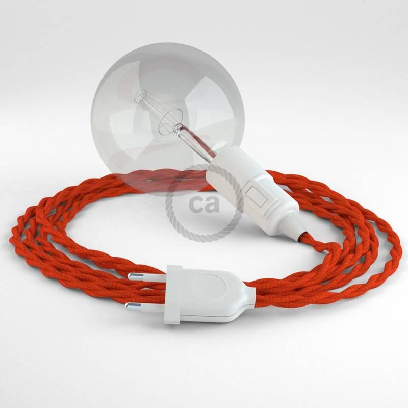 Crea tu Snake Efecto Seda Naranja TM15 y trae la luz donde tu quieras.