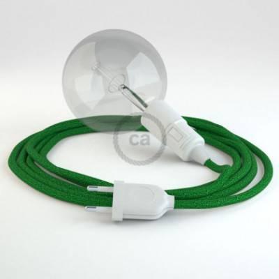 Crea tu Snake Glitter Verde RL06 y trae la luz donde tu quieras.