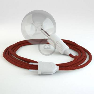 Crea tu Snake Glitter Rojo RL09 y trae la luz donde tu quieras.