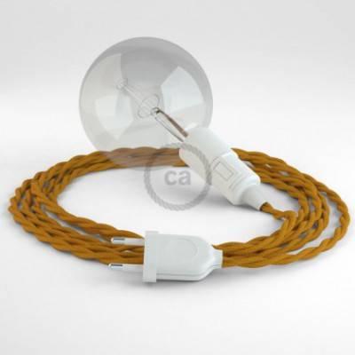 Crea tu Snake Efecto Seda Mostaza TM25 y trae la luz donde tu quieras.