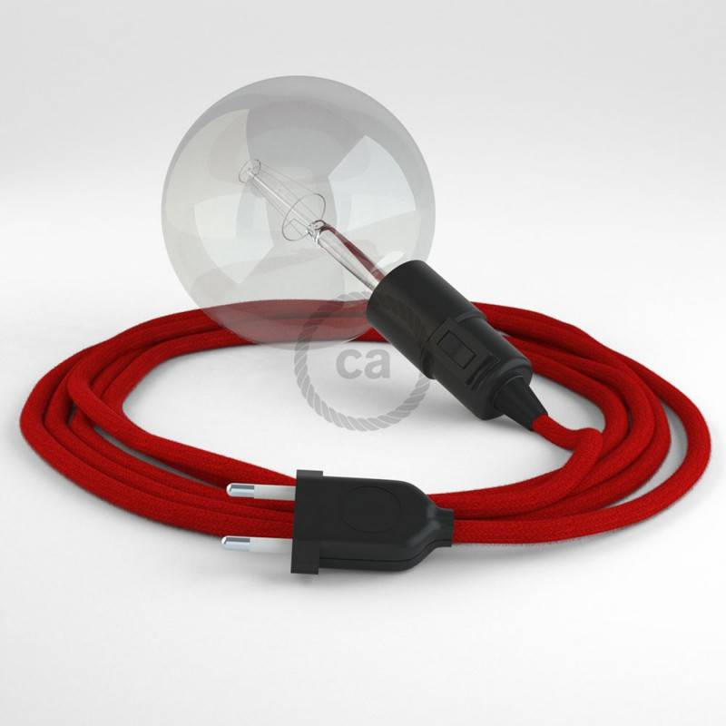 Crea tu Snake Algodón Rojo Fuego RC35 y trae la luz donde tu quieras.