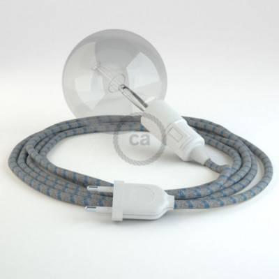 Crea tu Snake Stripes Azul Steward RD55 y trae la luz donde tu quieras.