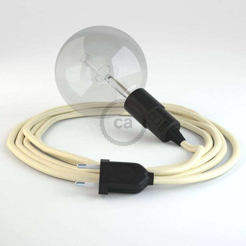 Crea tu Snake Efecto Seda Marfil RM00 y trae la luz donde tu quieras.