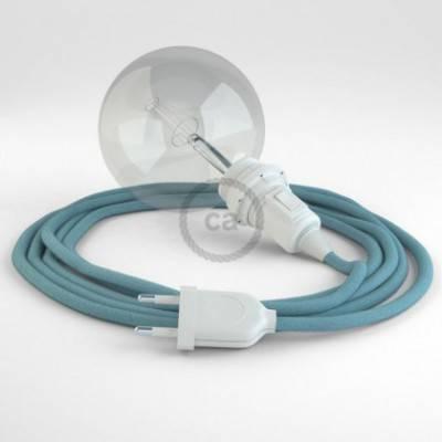 Crea tu Snake para pantalla Algodón Oceano RC53 y trae la luz donde tu quieras.