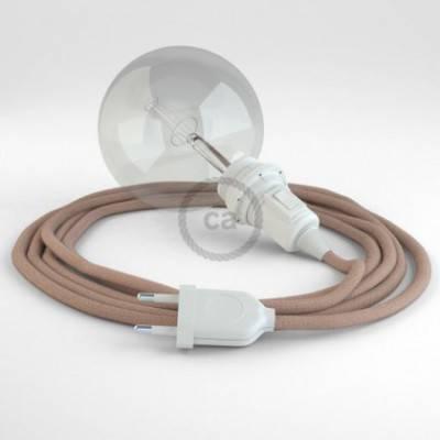 Crea tu Snake para pantalla ZigZag Rosa Antico RD71 y trae la luz donde tu quieras.